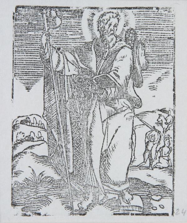 Neznámy autor - Sv. Jakub starší - apoštol