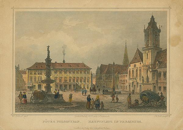 Joseph Maximilian Kolb, Ludwig Rohbock - Hlavné námestie v Bratislave