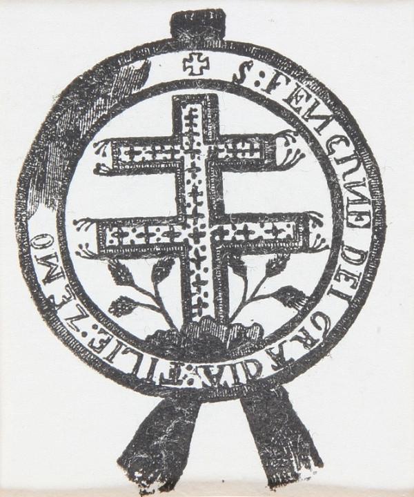 Neznámy autor – Znak s dvojramenným krížom