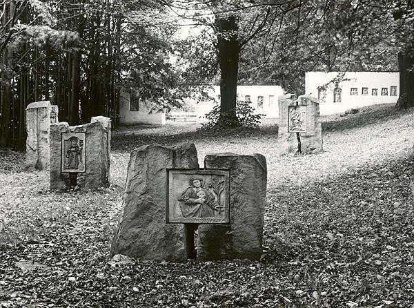 Petr Paul – Slanický ostrov umenia Oravská priehrada - lapidárium kamennej plastiky