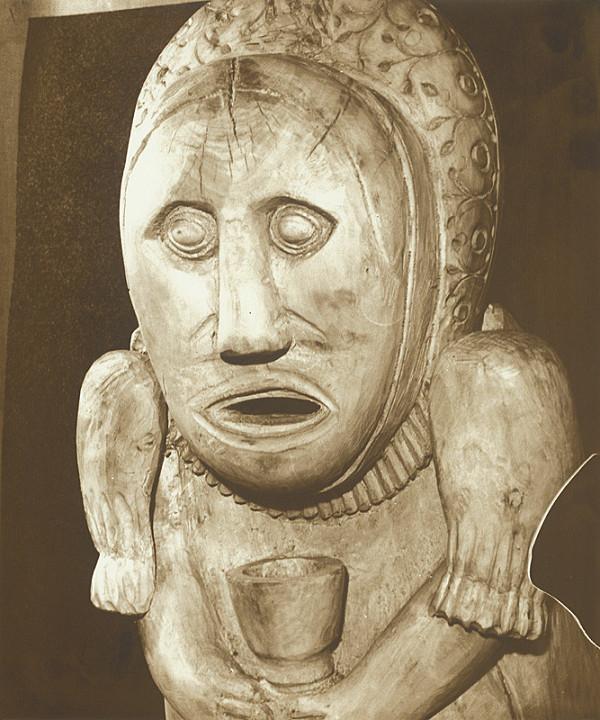 Stanislav Bodorík - Figurálny úľ  Žena s kalichom - detail