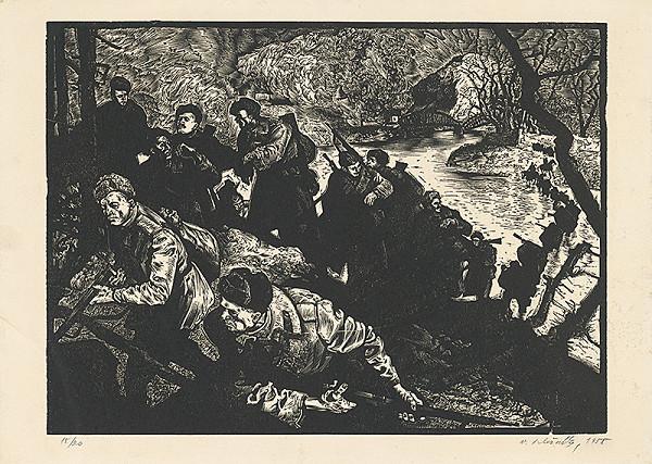 Vincent Hložník – Útok
