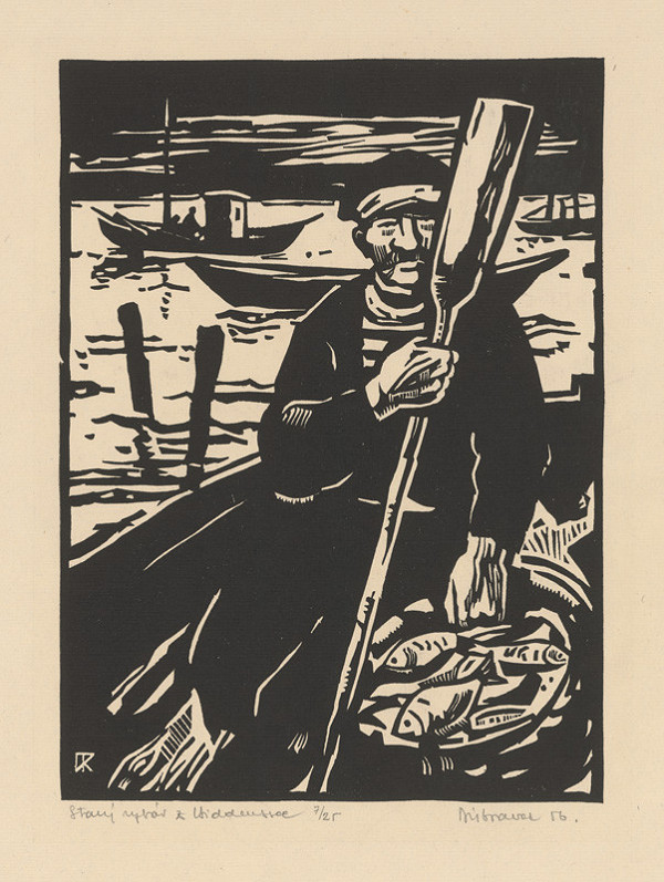 Robert Dúbravec - Starý rybár z Hiddeussee