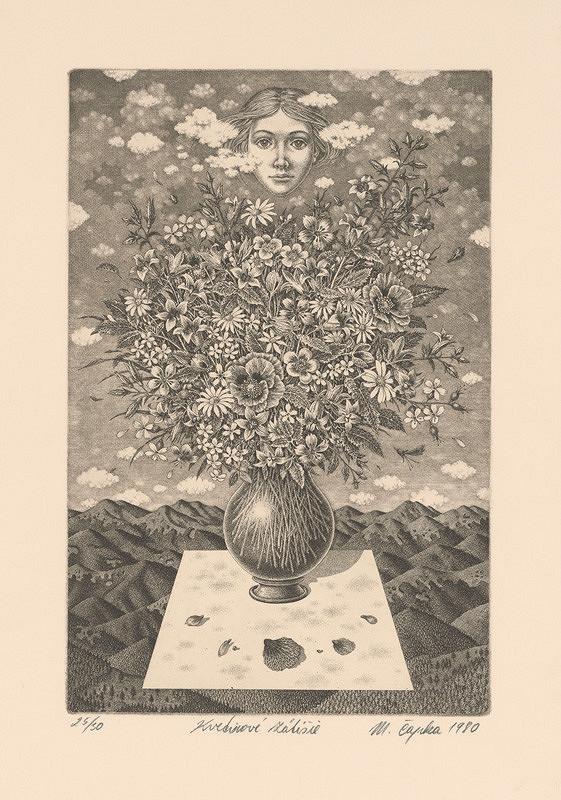 Marián Čapka – Kvetinové zátišie