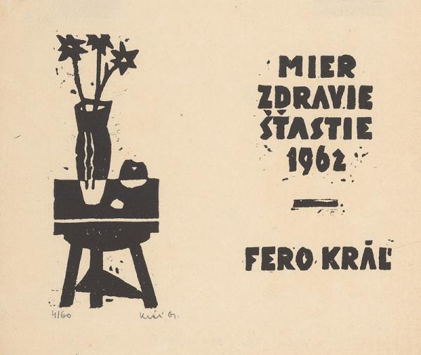 Fero Kráľ – P.F. 1962