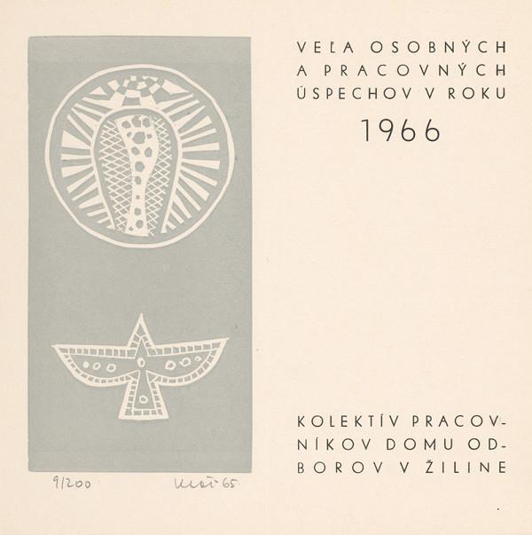 Fero Kráľ – P.F. 1966