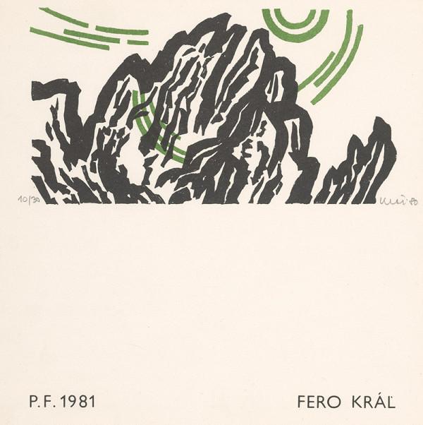 Fero Kráľ – P.F. 1981