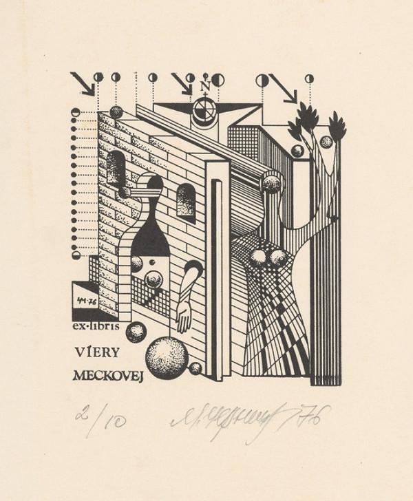 Mykola Černyš – Ex libris Viery Meckovej