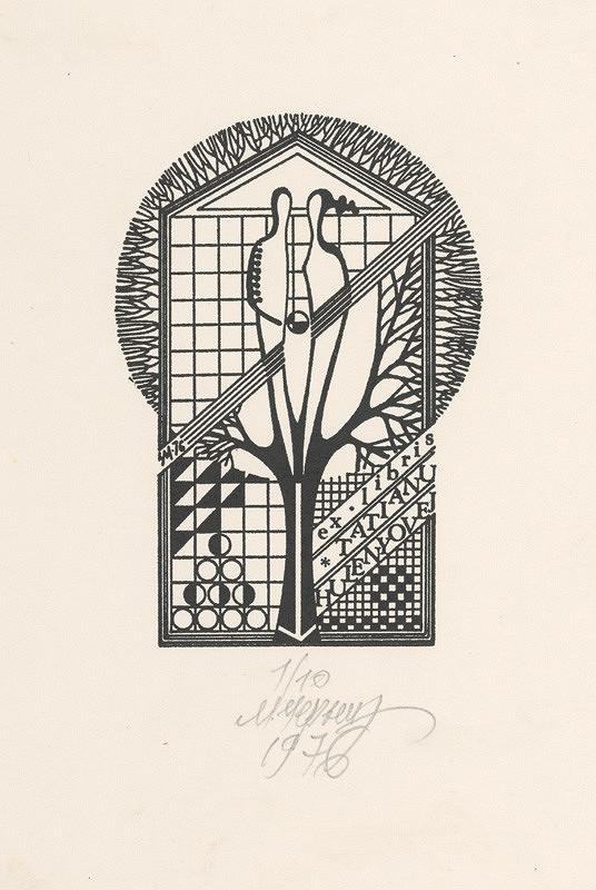 Mykola Černyš – Ex libris Tatiany Hulenyovej