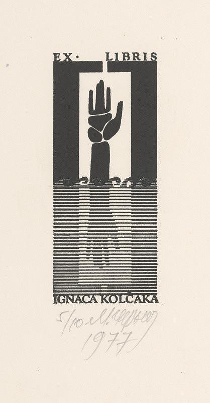 Mykola Černyš – Ex libris Ignáca Kolčáka