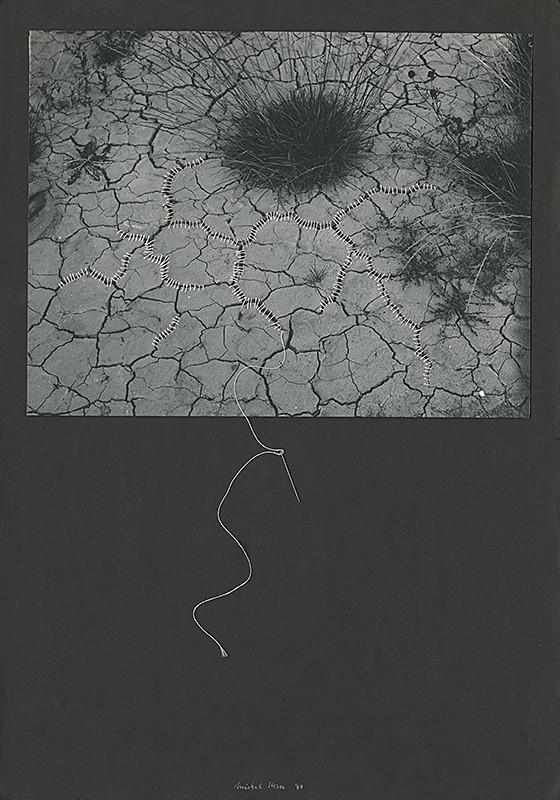 Michal Kern – Zošitá zem, 1989, Považská galéria umenia