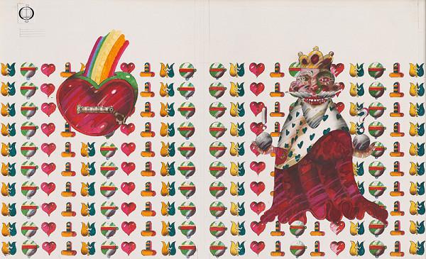 Róbert Brun – Kráľ naháňa králika - obálka
