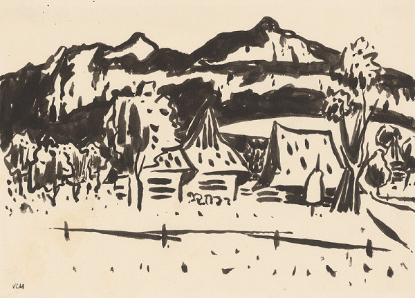 Viliam Chmel – Kresba III. Stredoslovenská krajina