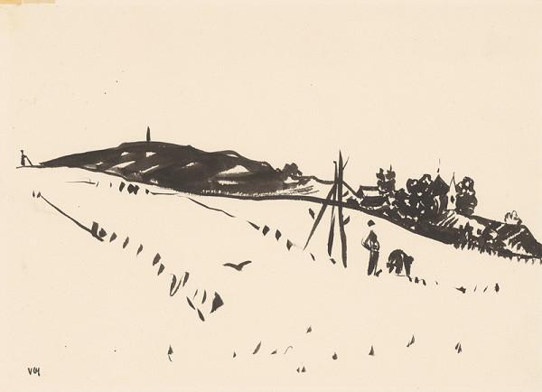 Viliam Chmel – Kresba IV. Stredoslovenská krajina