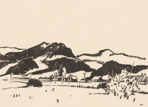 Viliam Chmel – Kresba VI. Stredoslovenská krajina
