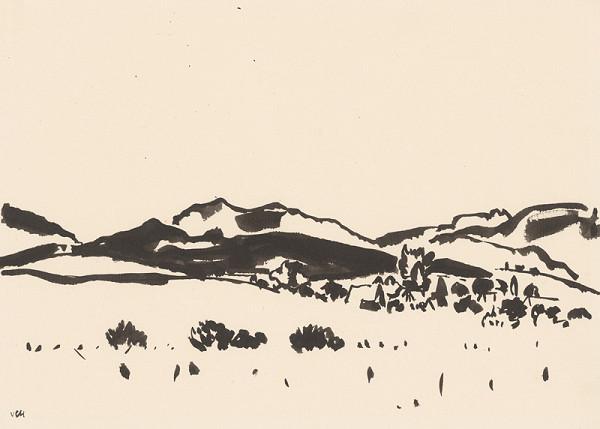 Viliam Chmel – Kresba VII. Stredoslovenská krajina