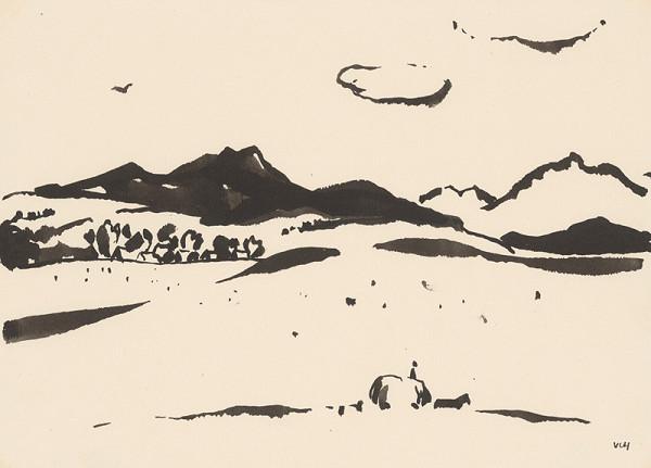 Viliam Chmel – Stredoslovenská krajina,kresba XI.