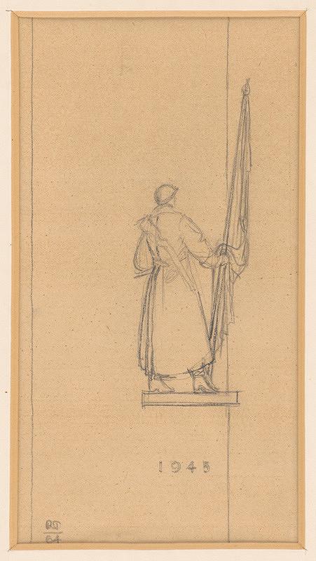 Rudolf Pribiš – Návrh na pomník