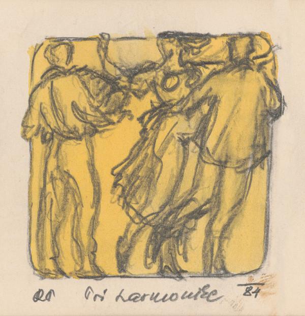 Rudolf Pribiš - Naša zem - kompozícia z cyklu Pri harmonike