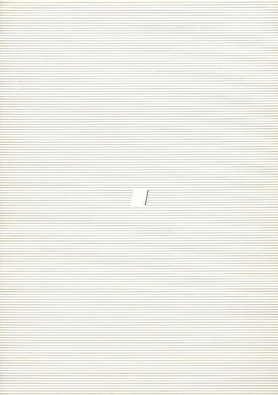 Milan Grygar – Lineární partitura, Hommage a Charles Ives