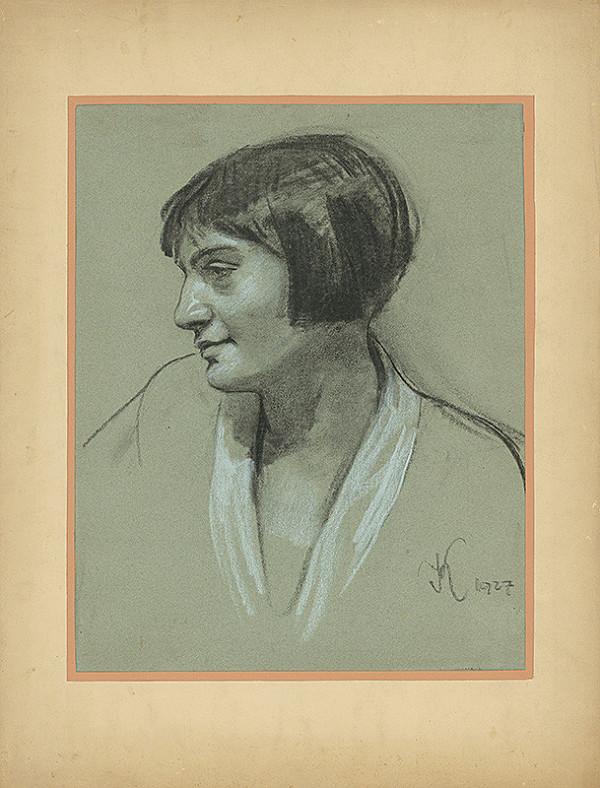 Viktor Krupec – Portrét ženy