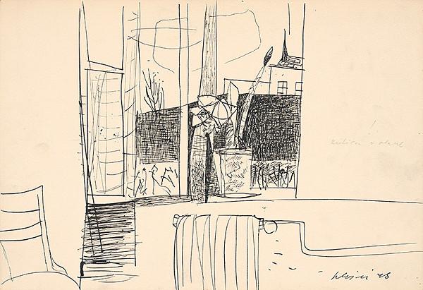 Vincent Hložník - Jar v okne