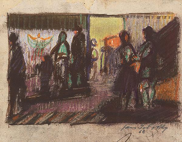 Ján Želibský - Pred výkladom