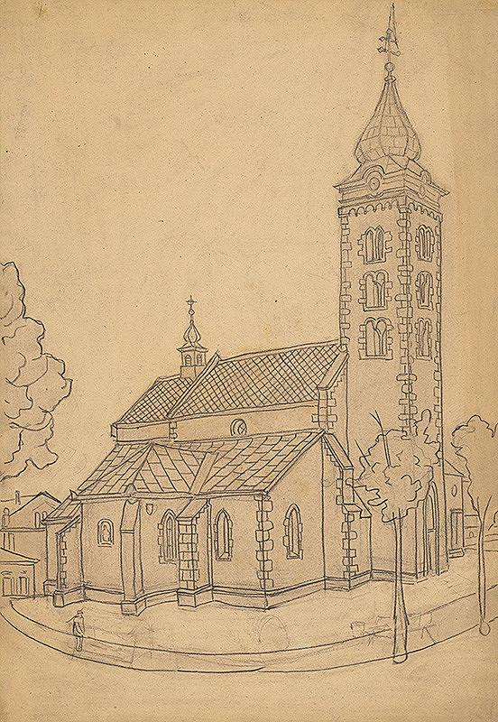 Janko Alexy – Kostol v Mikuláši