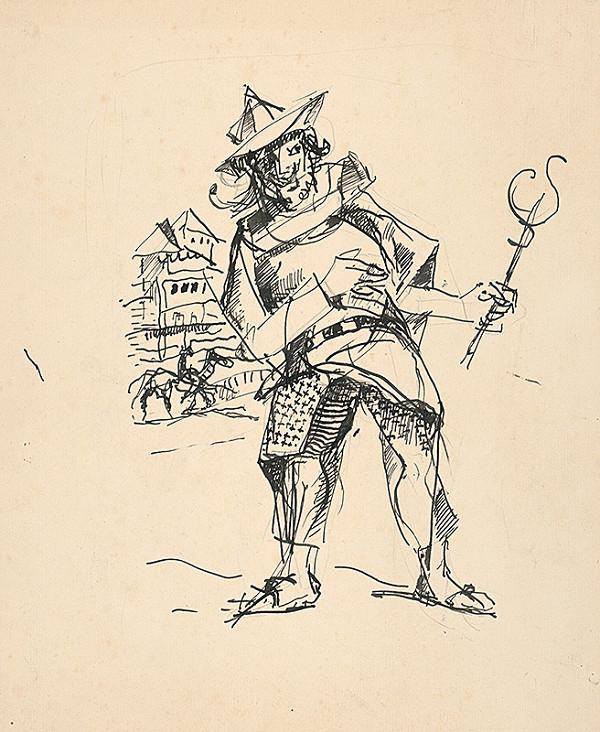 Július Jakoby – Divadelná figúra