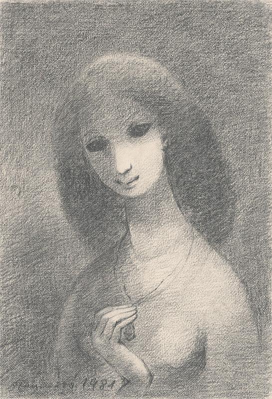 Edita Spannerová – Dievča s medailónom