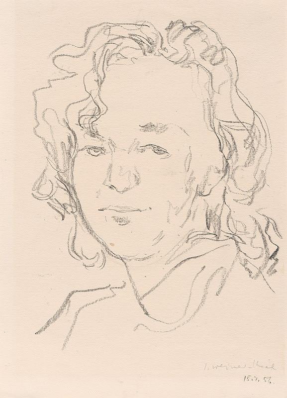 Imrich Weiner-Kráľ - Hlava ženy