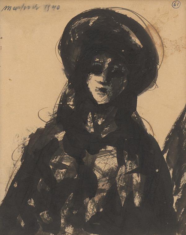 Ján Mudroch - Žena v čiernom