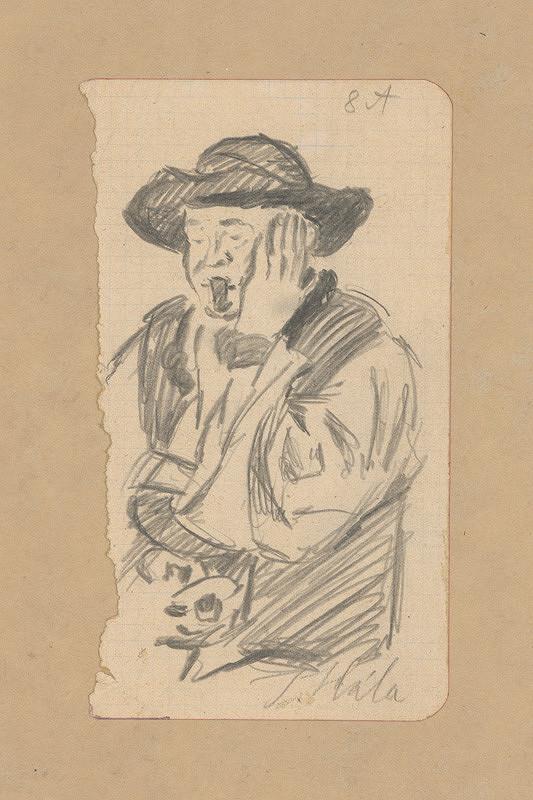 Jan Hála - Starec s fajkou