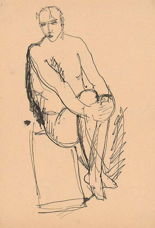 Jozef Brezany – Štúdia muža