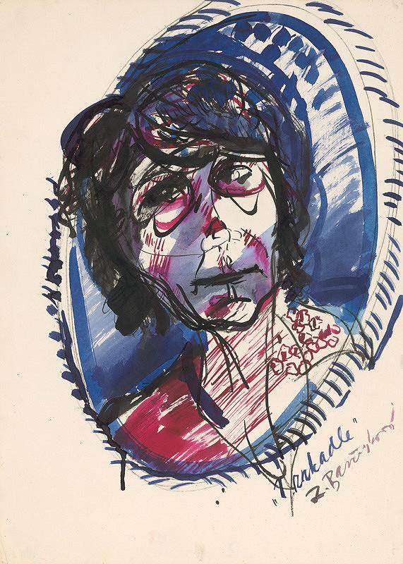 Zita Barčiaková – Autoportrét