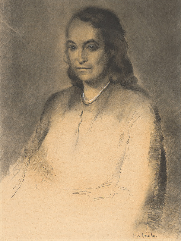 Anton Djuračka – Portrét ženy