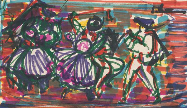 Sibylla Greinerová – Tanečníci