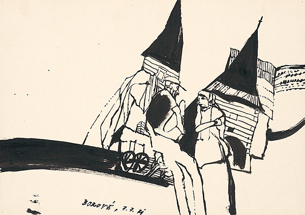 Vincent Hložník - Kresba V.
