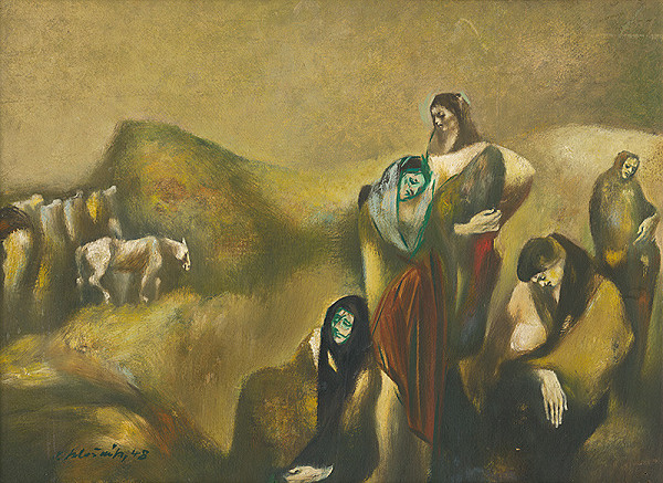Vincent Hložník – Utečenci