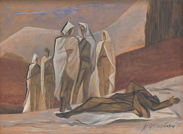 Kvetoslava Gandlová - Mŕtvy partizán