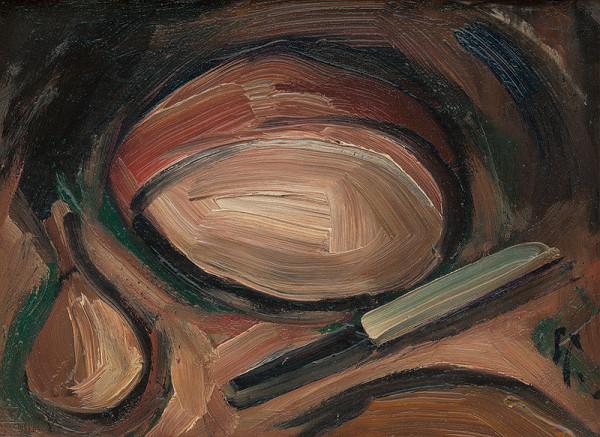 František Studený – Chlieb s cibuľou a nožík