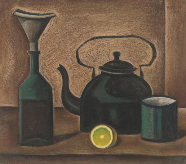 Andrej Barčík - Zátišie s čajom