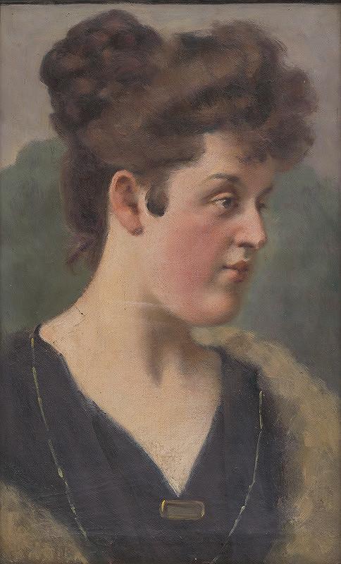 Milan Thomka Mitrovský - Portrét H.Krčméryovej