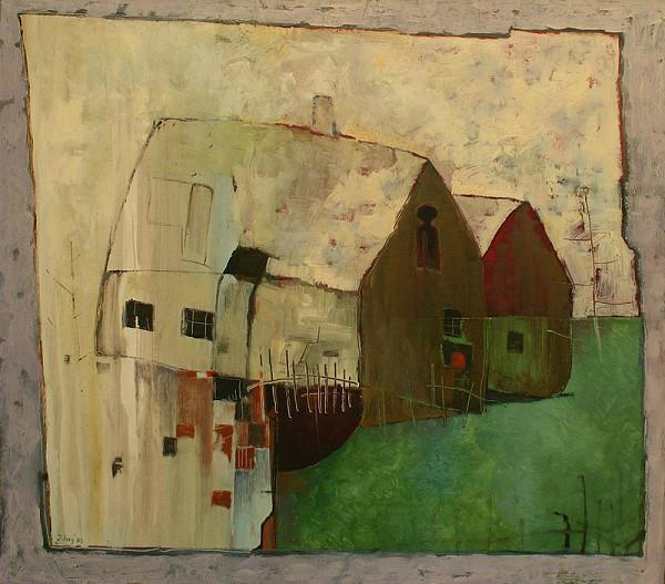 Jozef Zelný - Dva domy