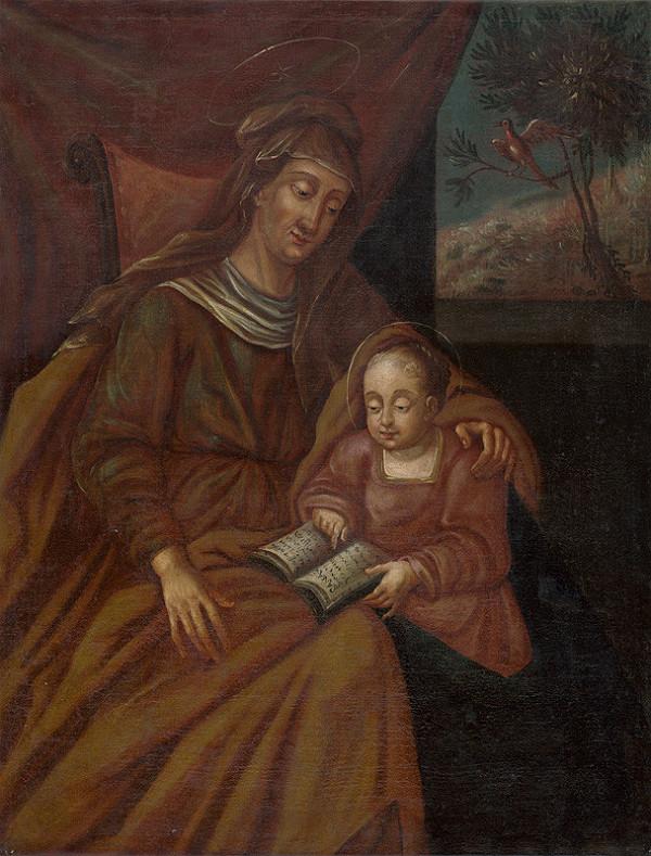 Neznámy autor – Madona s Ježiškom