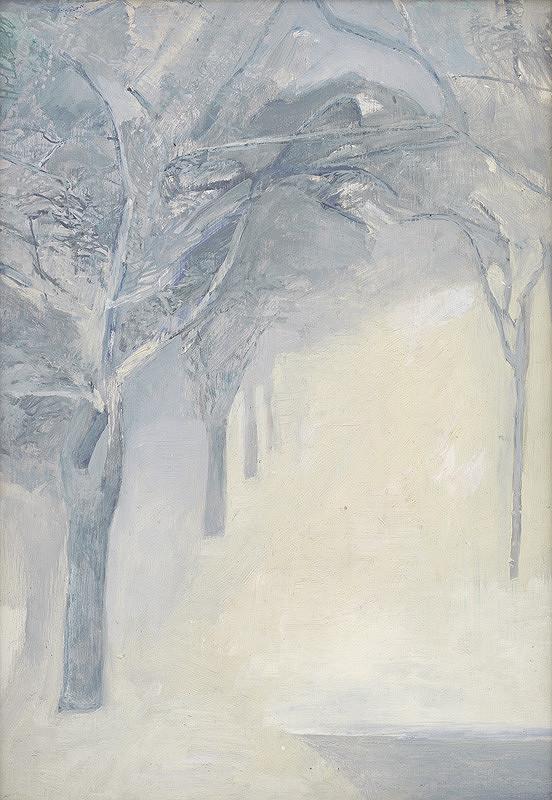 Emília Hollá - Alej v zime