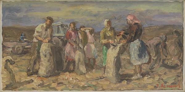 Jozef Bendík – Vyberanie zemiakov