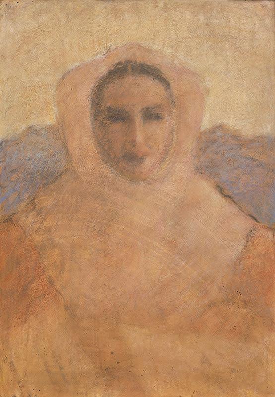 Janko Alexy - Dievča v šatke