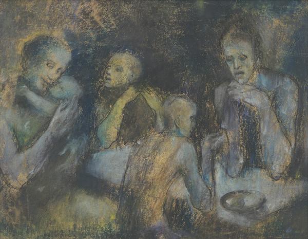 Vincent Hložník – Večera chudobných