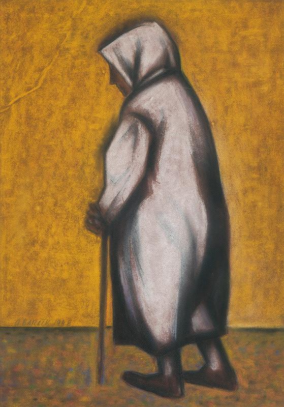 Andrej Barčík – Stará žena